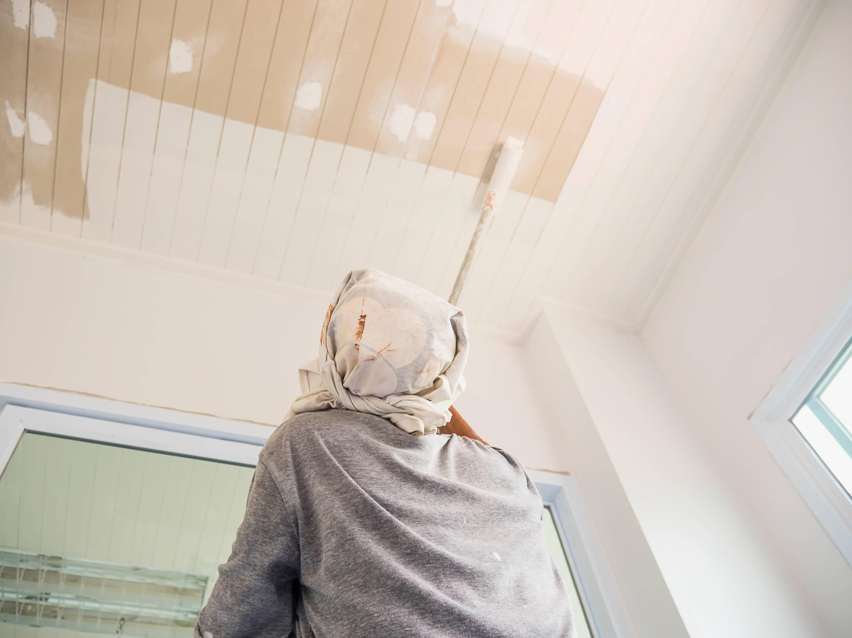 pintura para techos