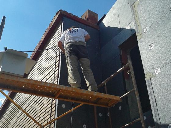 Cu l es el mejor aislante t rmico para fachadas - Mejor aislante termico para paredes ...