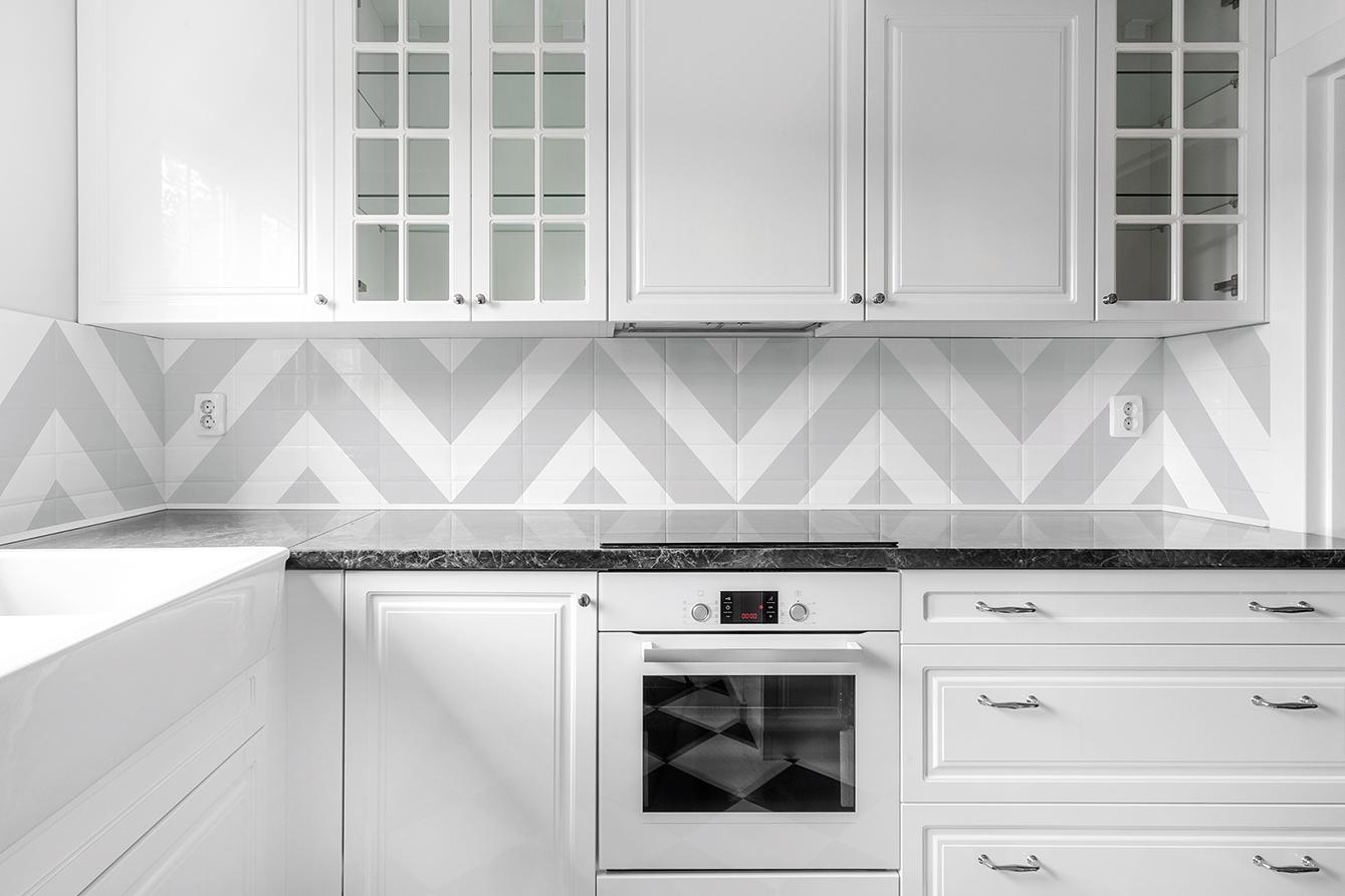 Especial ba os y cocinas renueva tu casa sin hacer obra - Paredes de cocina sin azulejos ...