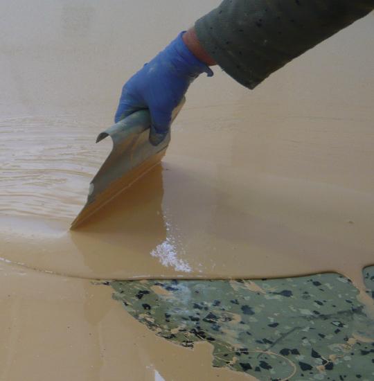 Curso para el pintado de suelos pinturas blatem - Pinturas para baldosas ...