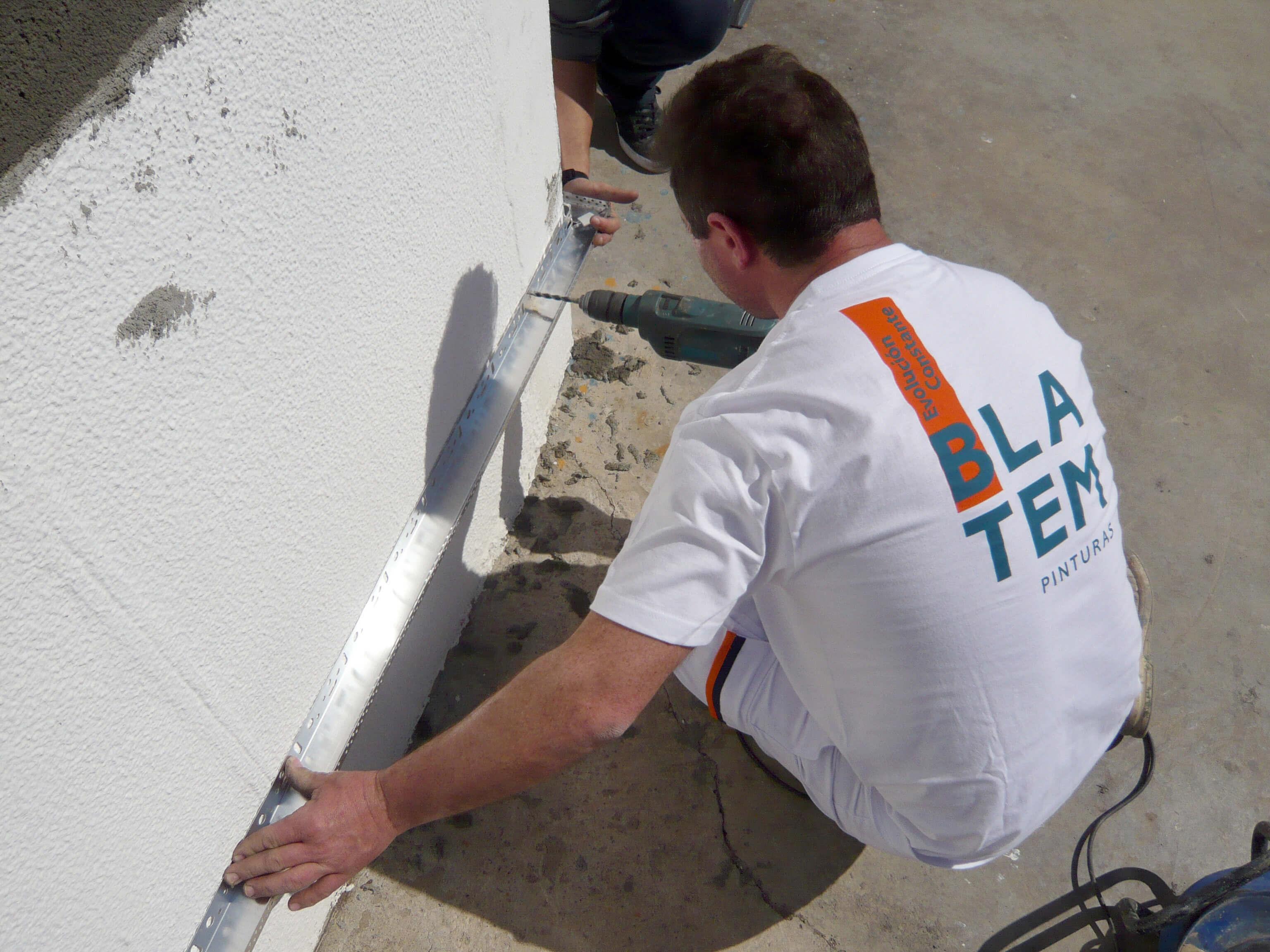 rehabilitación energética en un edificio