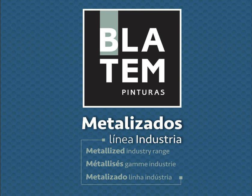 Nueva carta acabados metalizados de Blatem para la industria