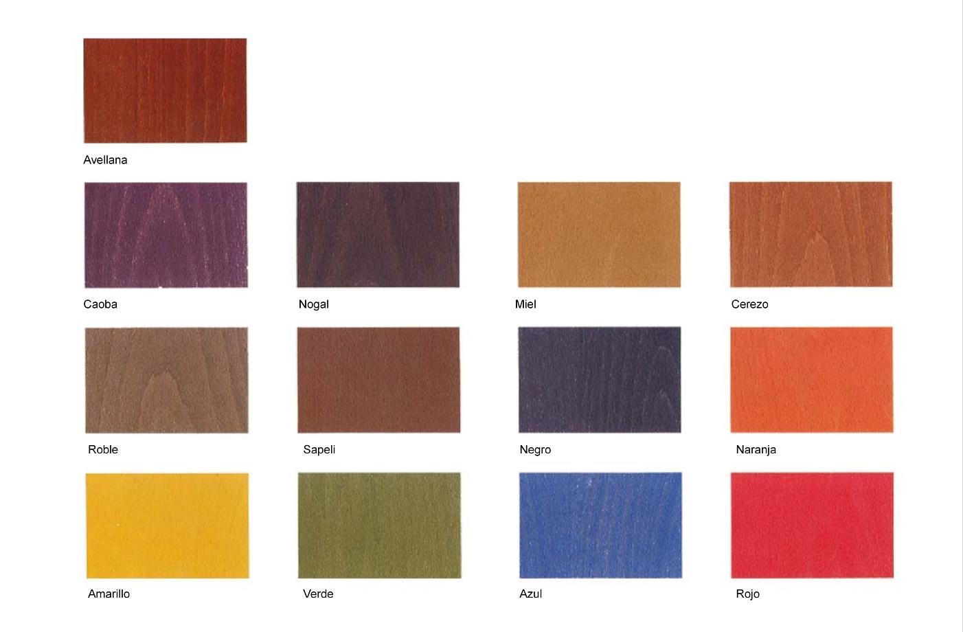 Tintes hidroalcoh licos linea 199 pinturas blatem - Pintura para madera barnizada ...