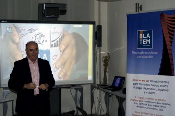 D. Vicente Romero, nuevo Director Comercial de Pinturas Blatem